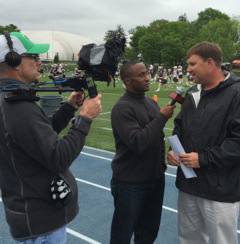 Sideline Reporting for Lacrosse Sports Network (2016)