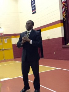 Guest Speaking at Paul VI (Fairfax) Awards Banquet