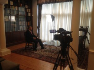Interviewing Ambassador of Embassy of Armenia to the United States (2016)