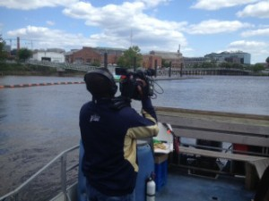 On the Anacostia River (D.C.) shooting documentary (2016)